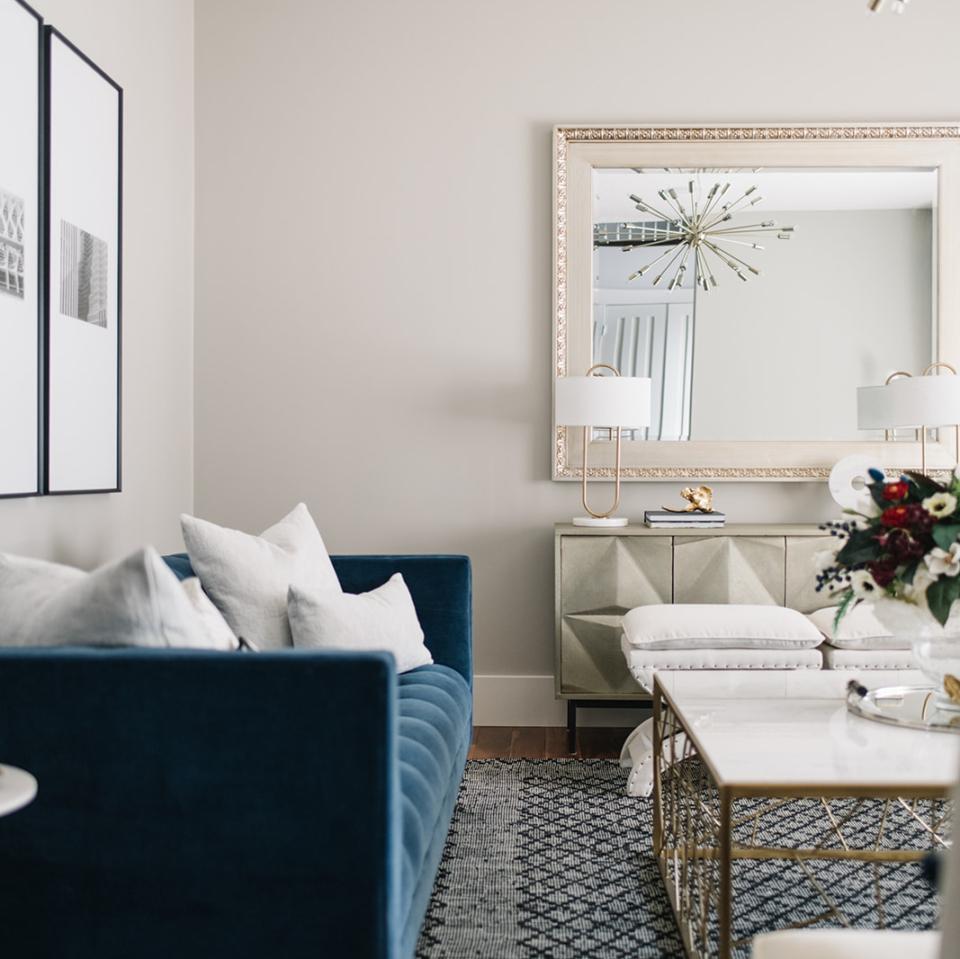 Modern Living Room by Wise Home + Design, Interior Design in Edmonton, AB