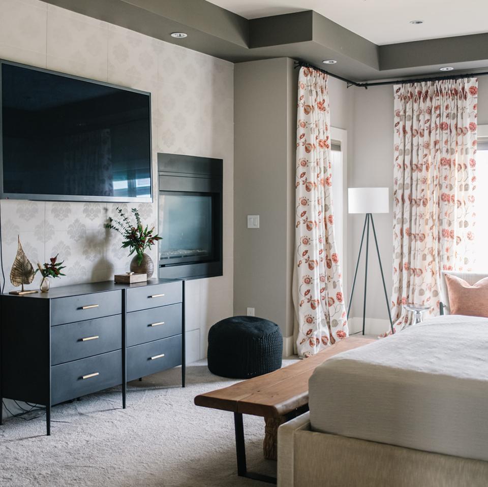 Modern Bedroom by Wise Home + Design, Interior Design in Edmonton, AB